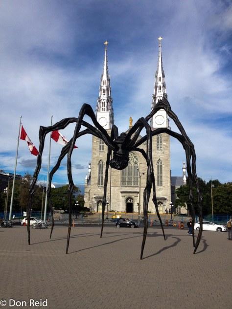 Unusual sculpture