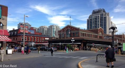 Downtown Ottawa - the market