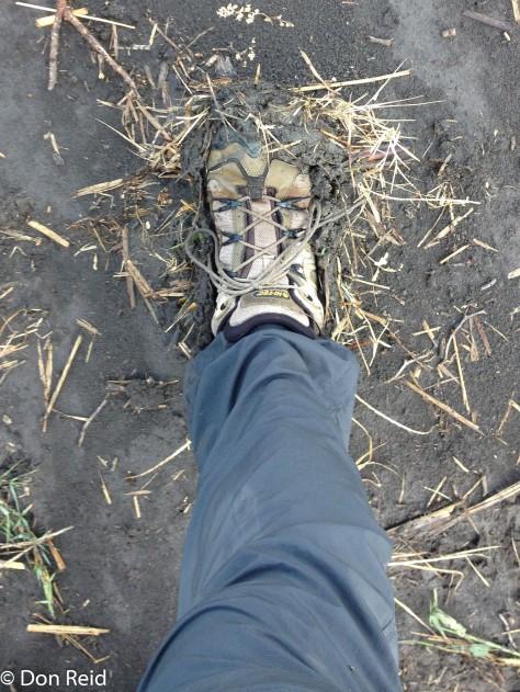 Sticky mud problem!