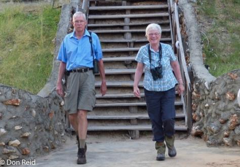 Neithard and Katherina, Inhassoro (Photo : Corne Rautenbach)