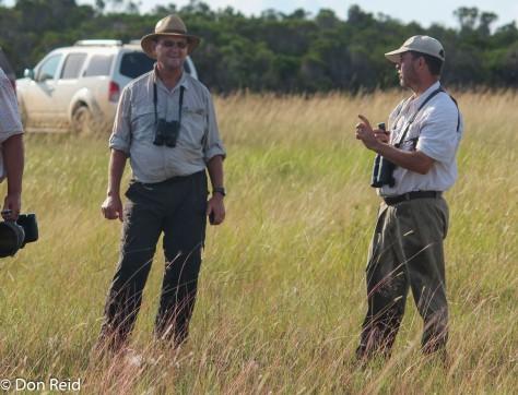 Don and Etienne at Rio Savane (Photo : Corne Rautenbach)