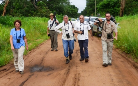 Here comes the team (part of it) (Photo : Corne Rautenbach)