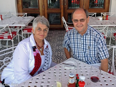 Lunch at Oyster Box Hotel, Umhlanga