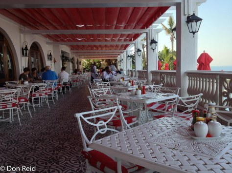 The Terrace Restaurant, Oyster Box Hotel