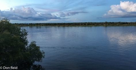 River views, Caprivi Houseboat Lodge