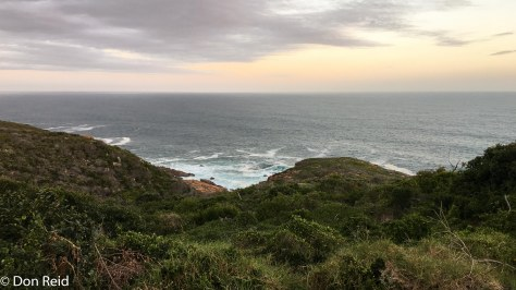 View from the Mossel Bay Golf Estate
