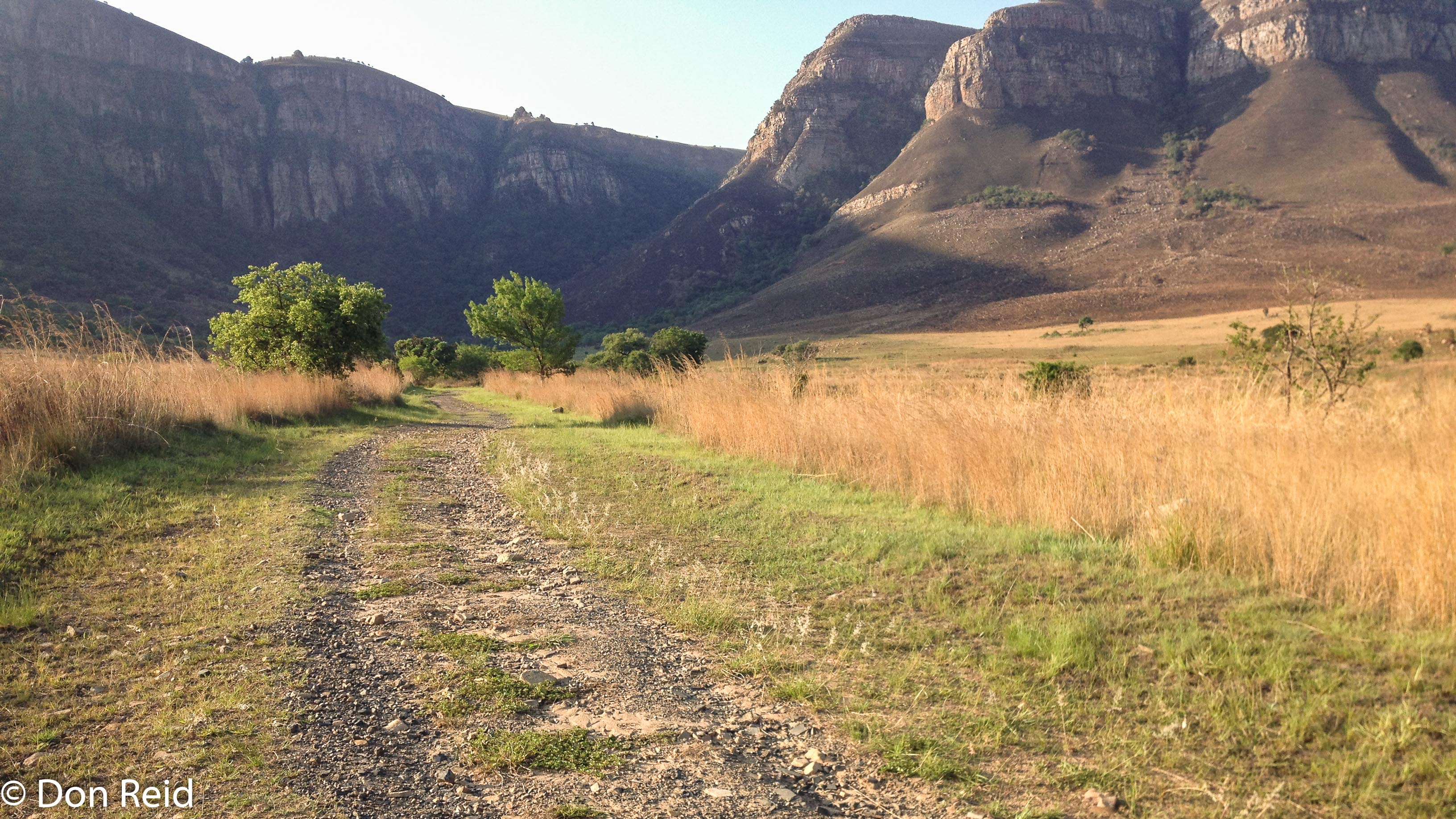 Mountain bike trail, Verlorenkloof