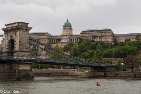 Approaching Budapest