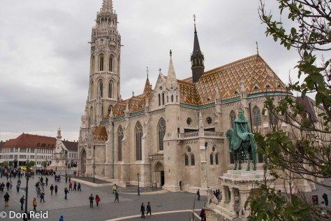 Budapest - St Matthews Church