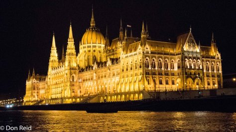 Budapest by night - Parliament