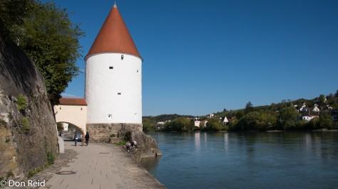 Passau - river scenes