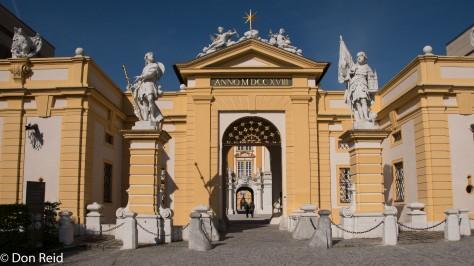 Melk Abbey entrance