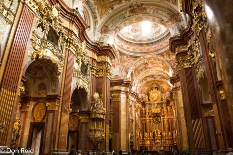 Melk Abbey - the Church