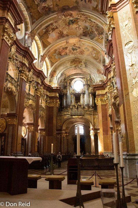 Melk Abbey - the Church
