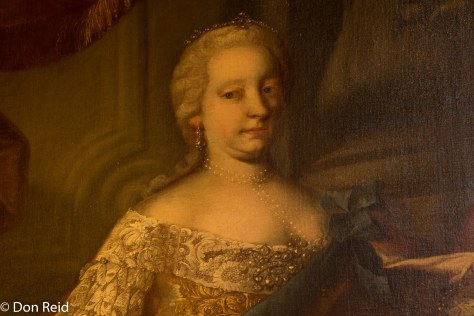 Melk Abbey - lady in a painting