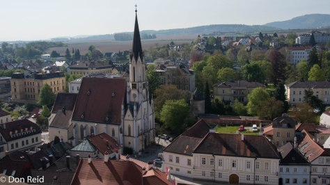 Melk Abbey - Views from the balcony