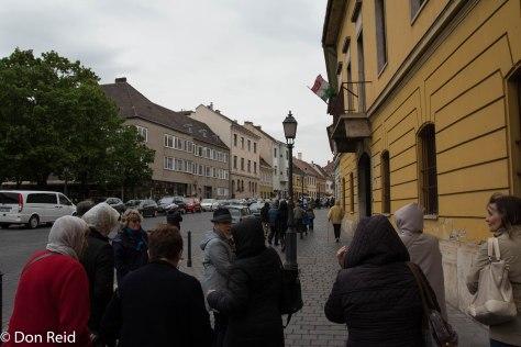 Budapest street scene