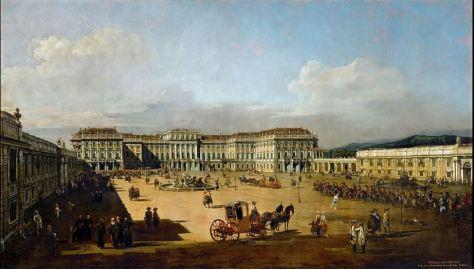 Painting by Bernardo Bellotto 1758