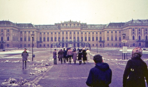 1972 photo of Schonbrunn