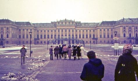 1972 photo of Schonbrunn