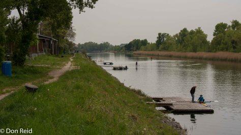 Vienna - walk along the river