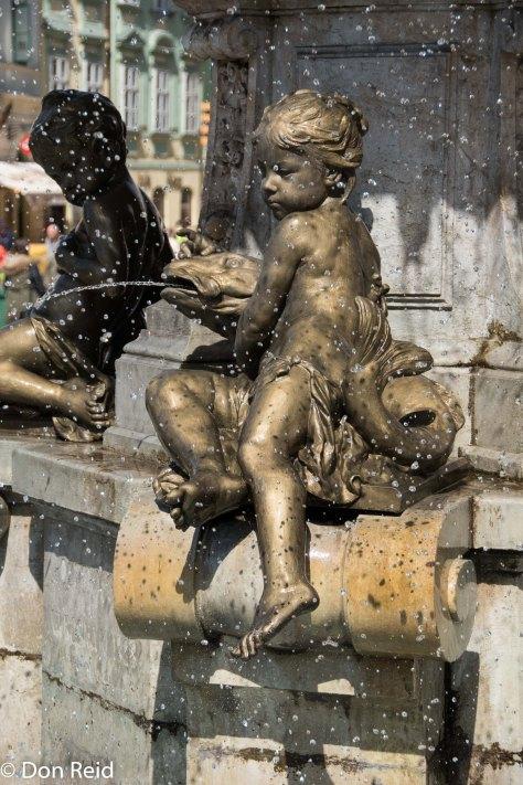 Ganymede's fountain