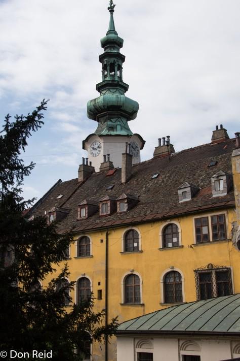 Bratislava old town.