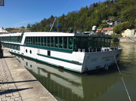 Our embarkment point at Passau