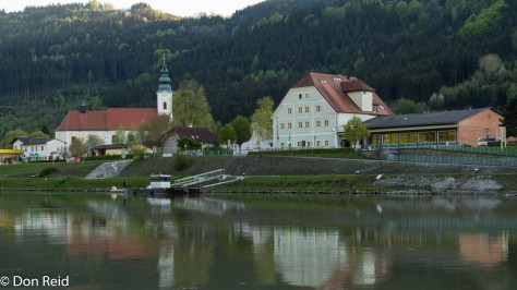 Riverside scenes