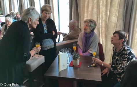 Gayle, Denise, Fleur with Gerda