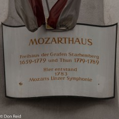 Linz - Mozarthaus