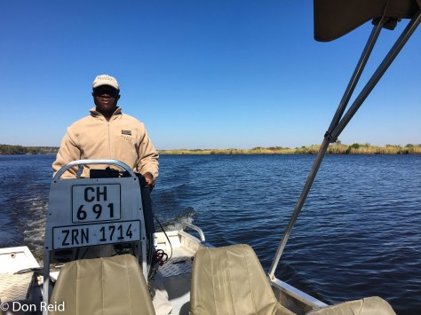 Richard, Chobe River Boat Trip