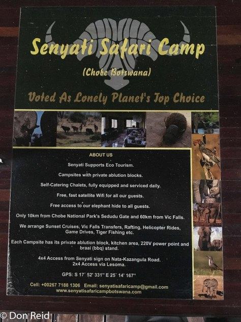 Senyati camp