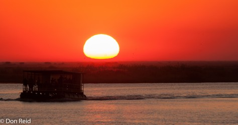 Sunset, Chobe Game Reserve