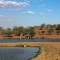 Kasane, northern Botswana