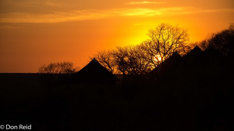 Olifants sunset, KNP
