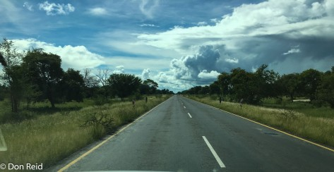 The road to Katima Mulilo