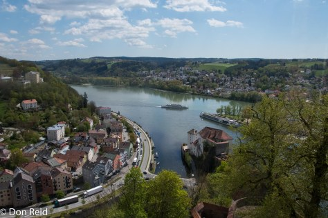 Passau - views from the Castle