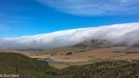 Rolling clouds near Oudtshoorn