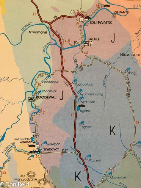 Kruger maps