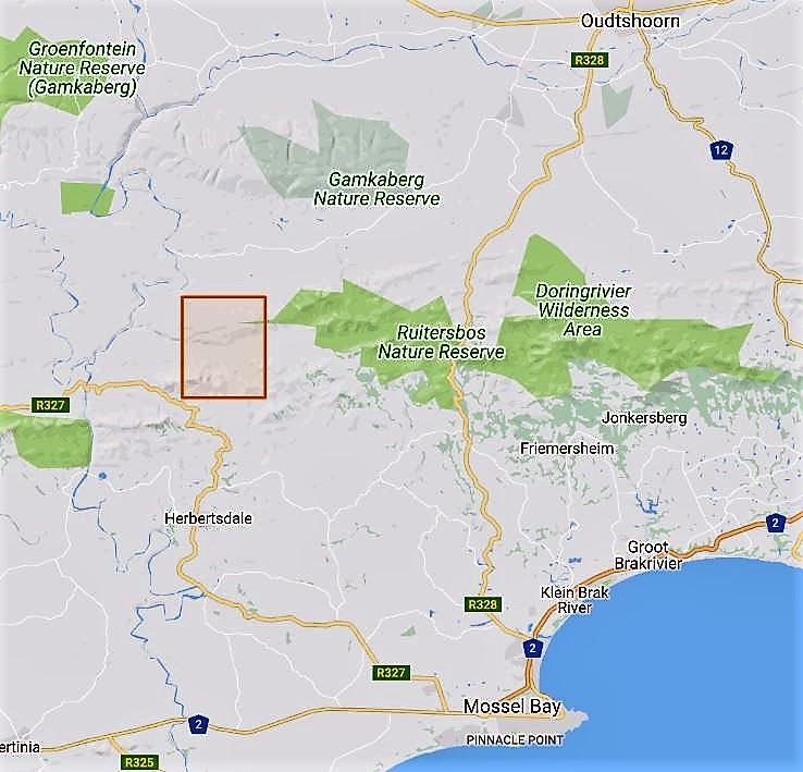 Herbertsdale map 1