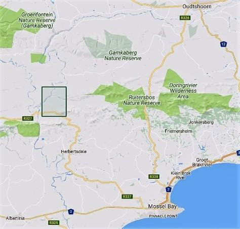 Herbertsdale map 2