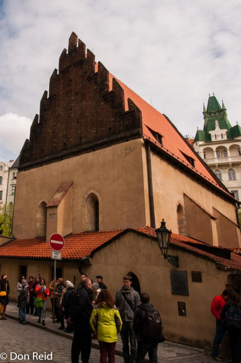 Prague - old Synagogue