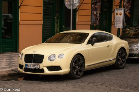 Prague - Bentley coupe