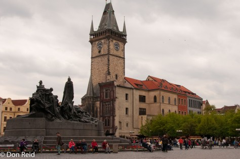 prague - Old Town Square with Town Hall