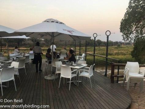 Skukuza deck, Kruger Park