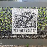 A Week in Verlorenkloof - Day One